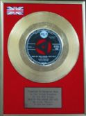 "Elvis Presley -  24 Carat Gold Disc 7"" - Wear My Ring Around Your Neck"